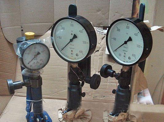 Стенд для проверки и регулировки дизельных форсунок