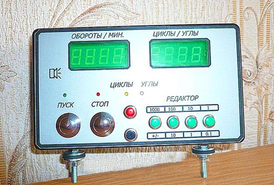 Блок контроля на стенд по регулировке и проверки тнвд